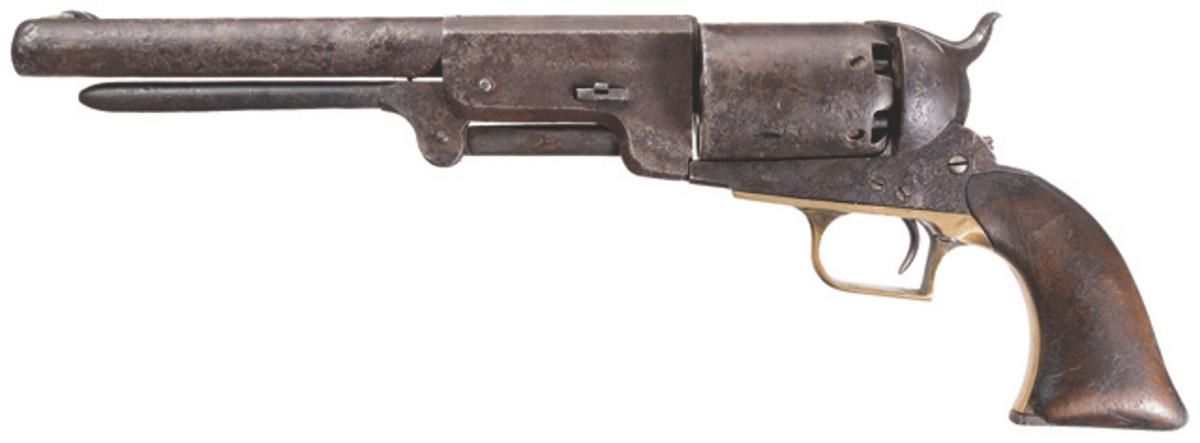 LOT1097-Desirable Walker's Company C Company No. 49 Colt U.S. Walker Model 1847 Revolver