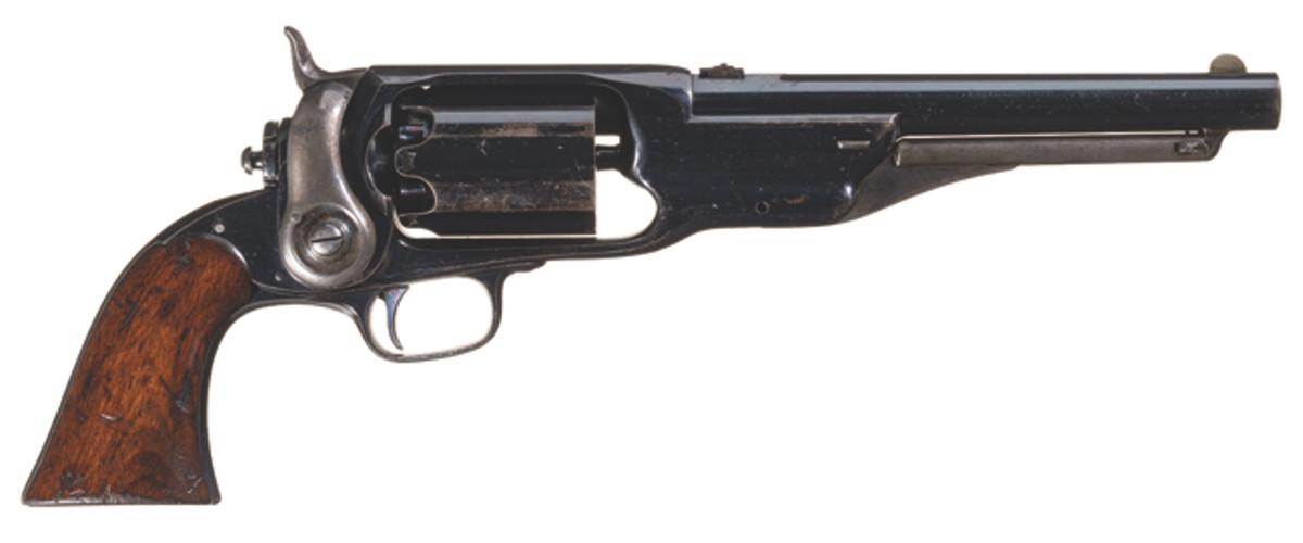 Experimental Colt Sidehammer Dragoon Revolver