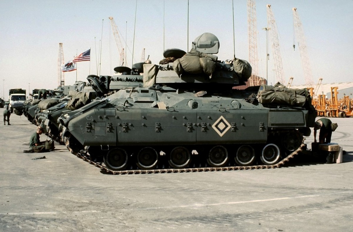 When US armored forces launched a ground offensive against Iraqi forces in February 1991, many of the vehicles were still painted in a camo scheme more suited for northern Europe forests than Mideastern deserts. Over the next 25 years, desert paint became the norm. This is all changing, however, as the Nation looks at new European threats.