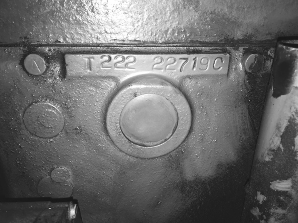 all the data plates and tags have been lost over time. However, both the chassis number and engine number match the September 1942, registration date provided by the Belgian registration document. The British Military Vehicle Trust has verified the age of the vehicle and classed it as 1942 and original.