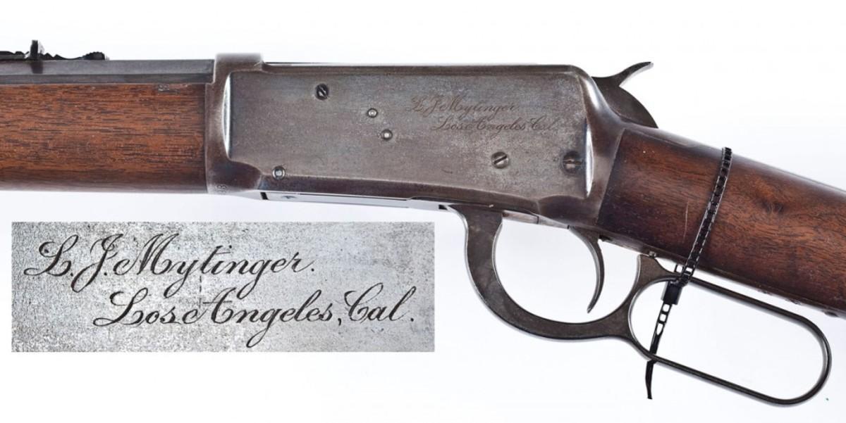 Name Inscribed 1894 Winchester (estimate $4,000-$6,000)
