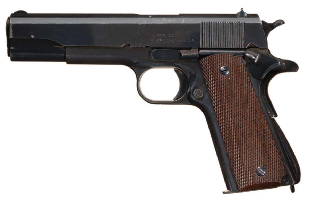 World War II Singer Presentation/Tool Room/Prototype U.S. Model 1911A1 Semi-Automatic Pistol