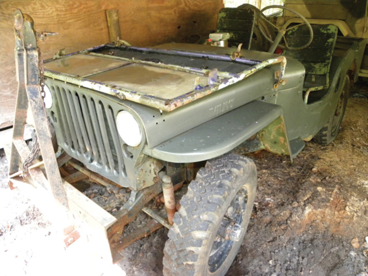 While many of us in the old car hobby dream of stumbling across a dusty but otherwise all-original vehicle in a barn, it's a very rare occurrence. That is not to say that it doesn't happen.
