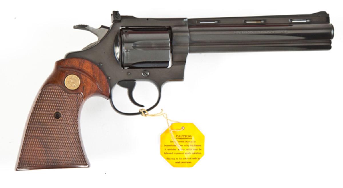 Colt DiamondBack Revolver .22 Caliber ($1,700)