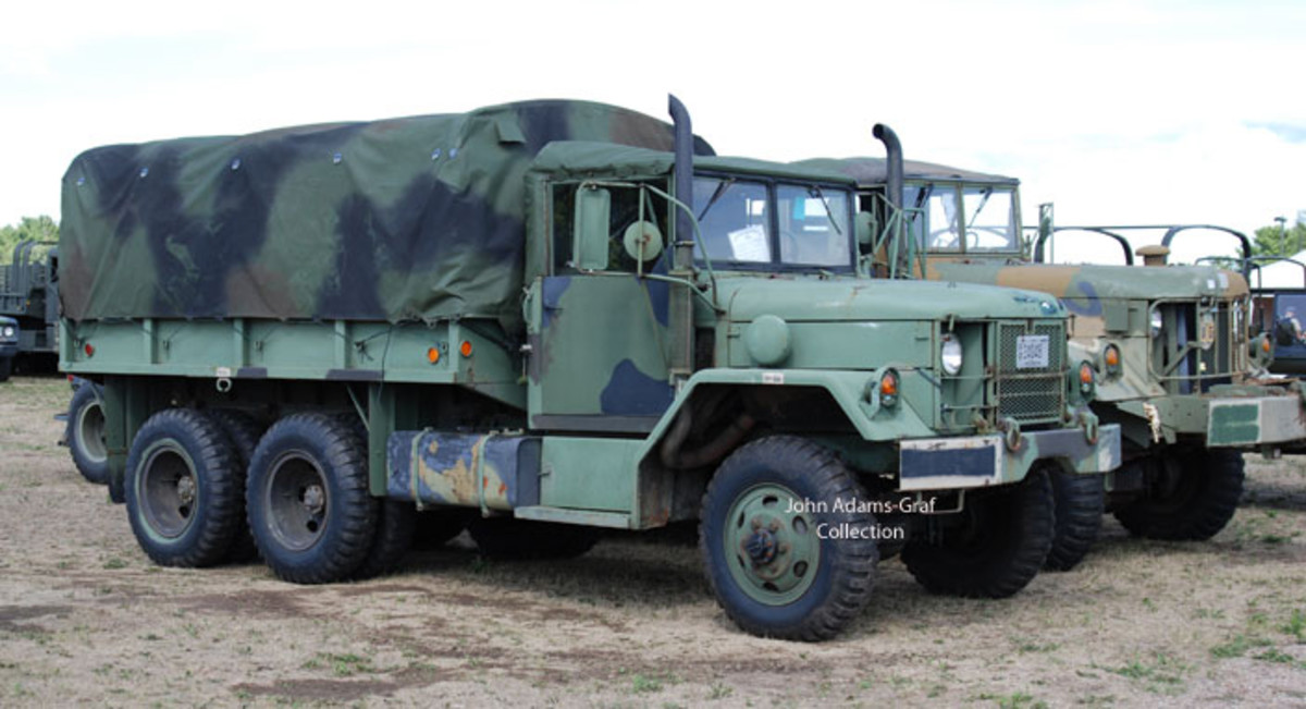 John Marquardt's 1971 AM General M35A2.