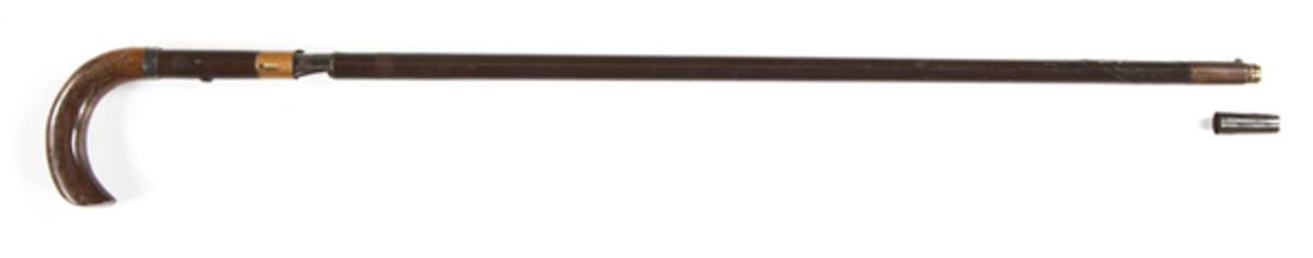 19th Century Percussion Cane Gun ($1,500)