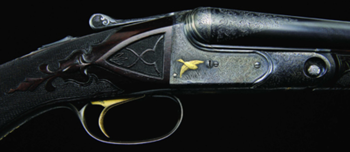Investment-quality gold inlaid Parker A1 Special 16 gauge shotgun sold for $178,250.