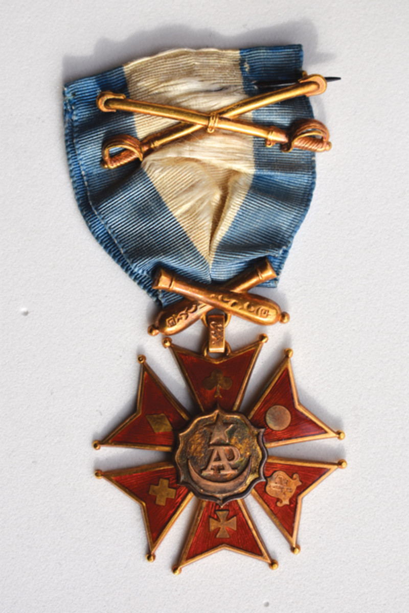 The Society of the Army Potomac's Membership medal over the life of the Society had different makers with minor variation in size as well as number location.