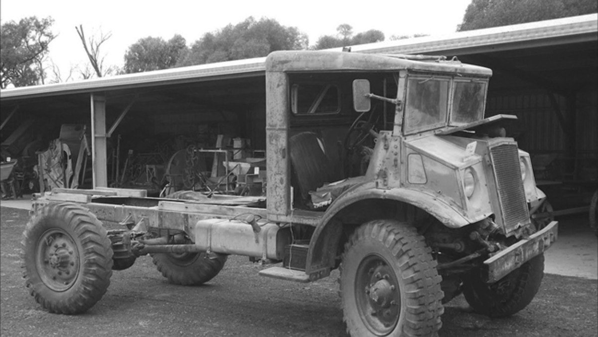 This CMP cab and chassis, assuming it's mechanically complete and operational, appears to be another example of a barn find that might be driven home.
