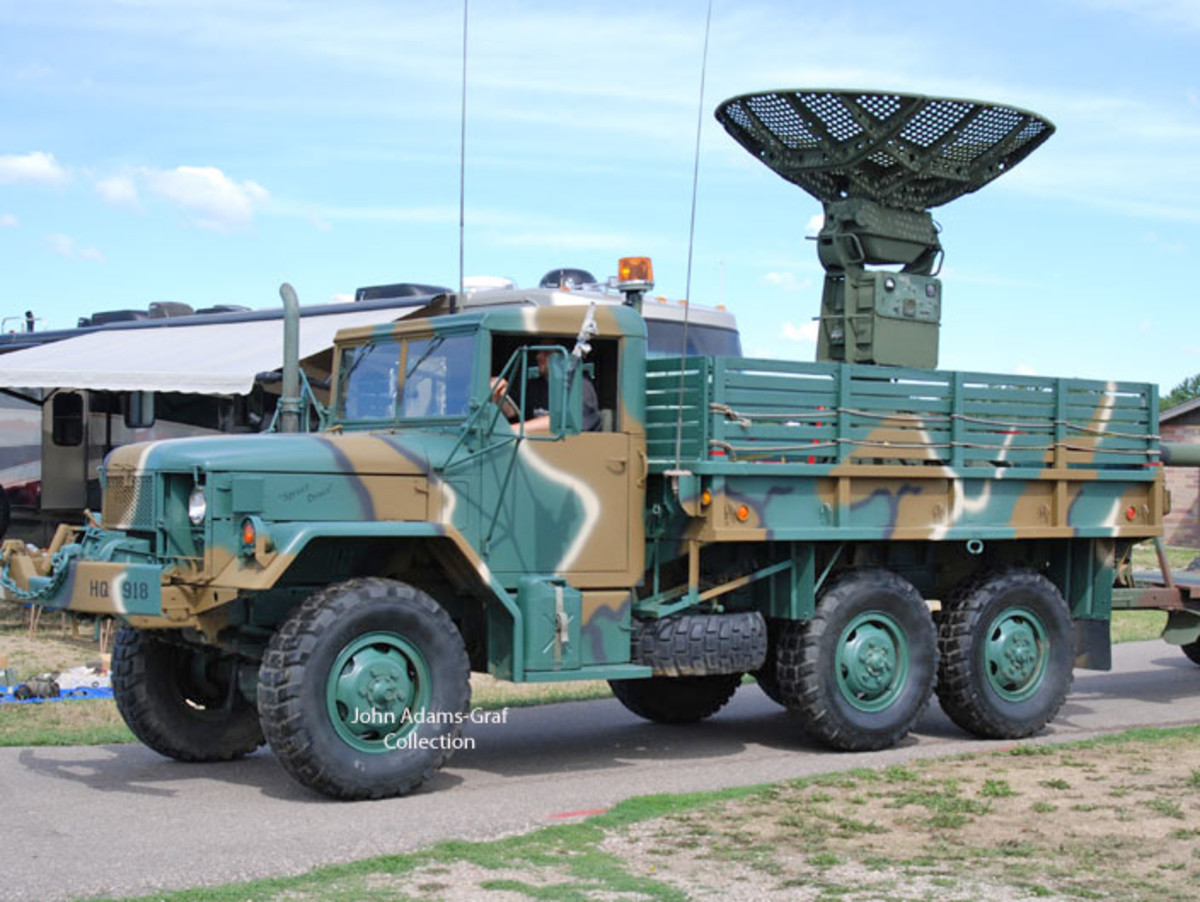 1969 M35A2 AM General with AN GMD-1B portable Radar belonging to Tom Zat.