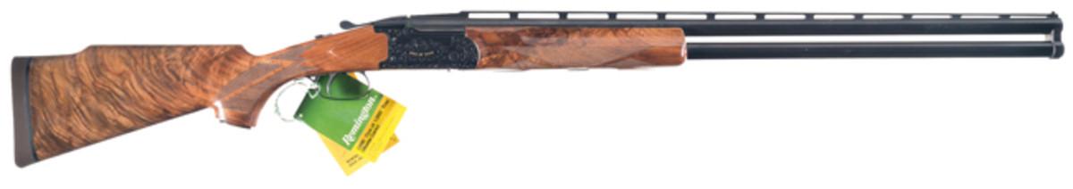 """Engraved Remington Model 3200 """"1 of 1,000"""" Over/Under Shotgun"""