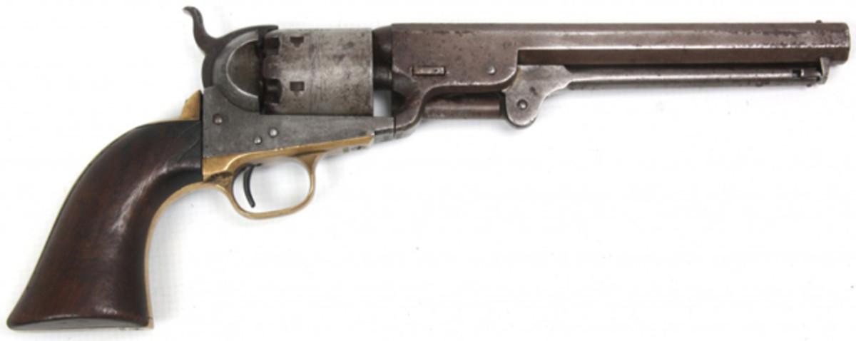 Colt (N.Y.) Navy model 1851 revolver.