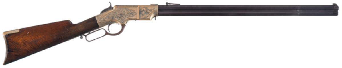 Engraved New Haven Arms Company Henry Lever Action Rifle