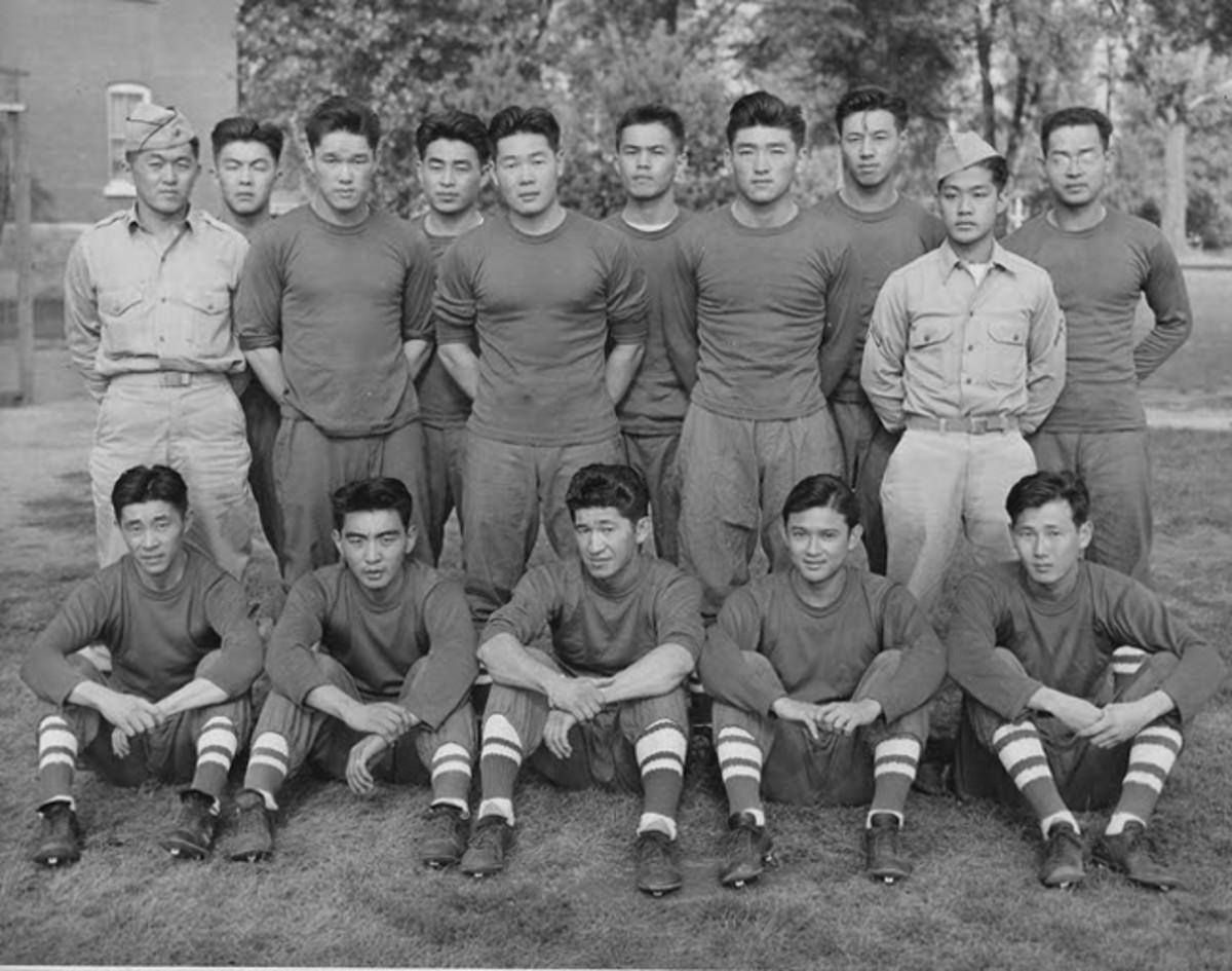 Fort Snelling All Stars football team ca. 1944