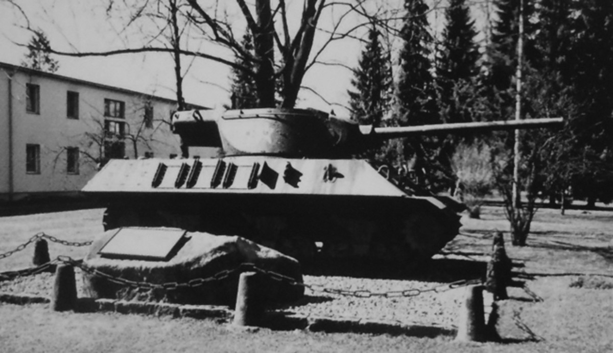Today, the recovered and partially restored M36 stands as a monument at the Schwarzenbergkasserne, the Austrian Army's largest military base.