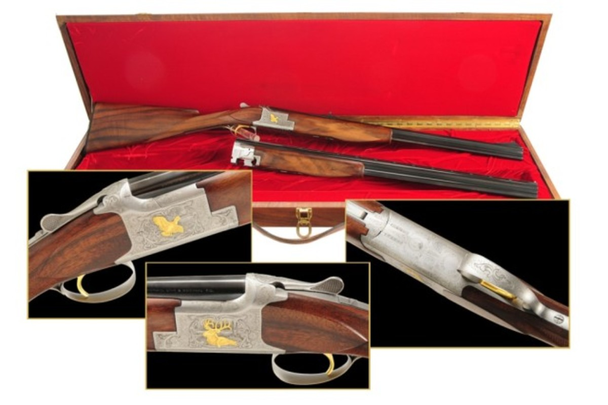 Browning Continental Centennial Rifle Set. Price Realized: 7,254.