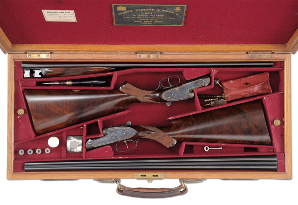 Lot 2291 Golden Age Pair of Purdey Best .410 Game Guns, Extra Finish by Kell. Two of Six .410s made before WWII.