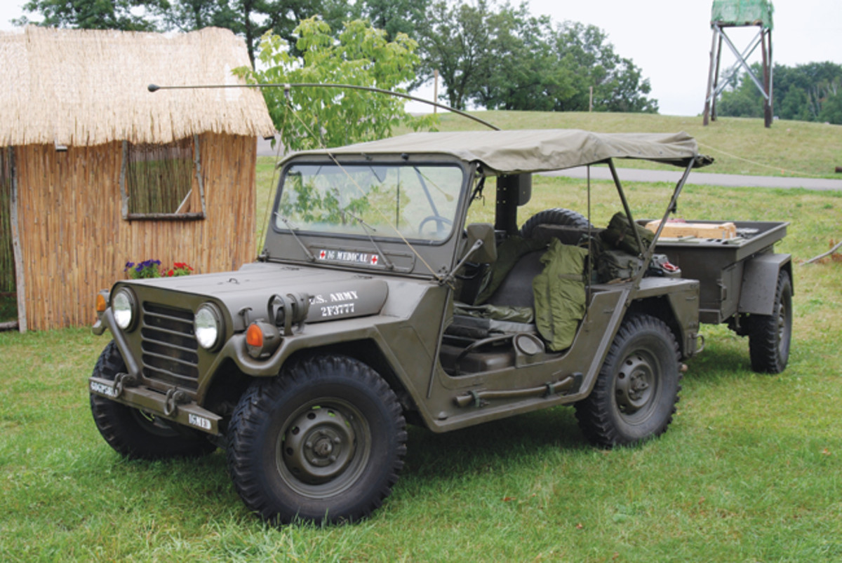 1973 AM General M151A2Owned by Michael Weaver;Photo by John Adams-Graf