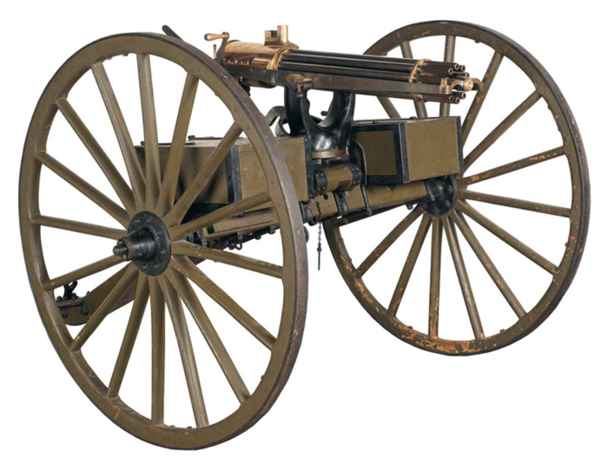 Colt Model 1890 Gatling Gun on an Original Carriage ($253,000)