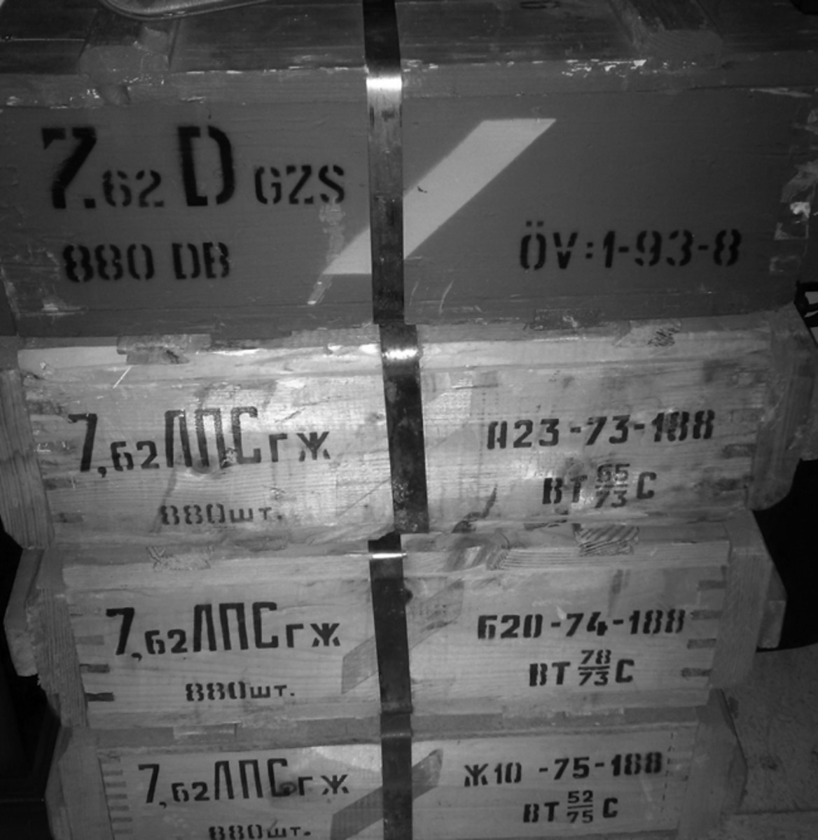 Since the collapse of the Soviet Union, ammunition made for it and other Soviet Bloc nations and allies has flooded the market. Understanding the markings on sealed crates might help you purchase the quality of ammo that you want to shoot, collect, or sell.