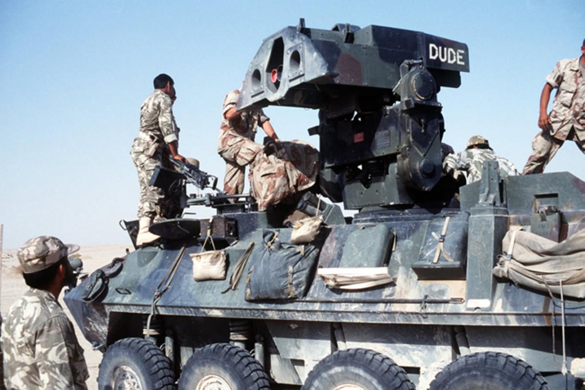 LAV-AT in Operation Desert Storm, 1991