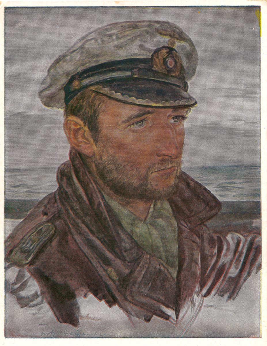 Images of independence and daring were captured in Willrich's U-boat captain portraits.