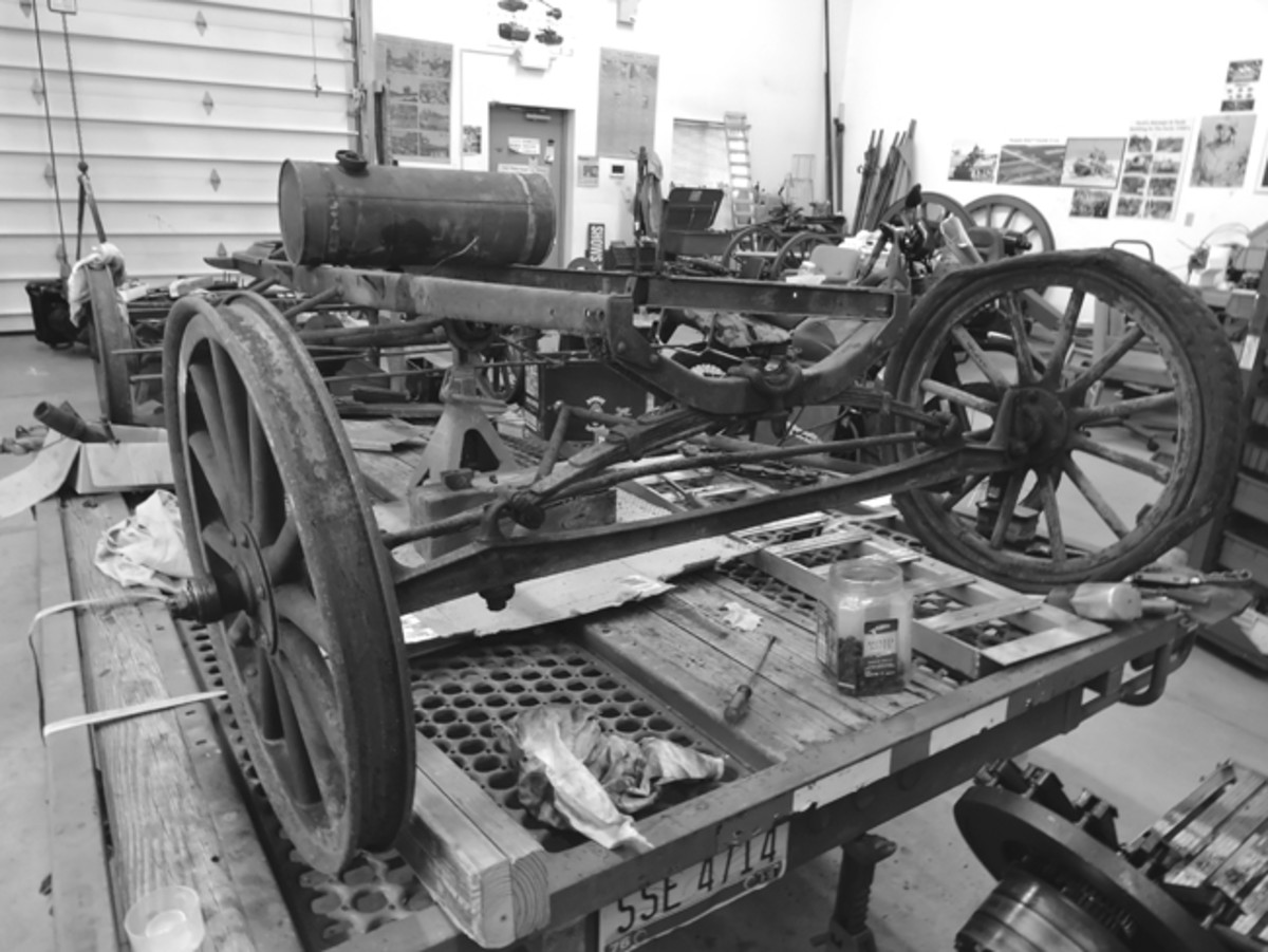All model T ambulances were built on a standard automotive chassis — not a truck. This was done to simplify the supply chain of parts to the troops serving overseas.