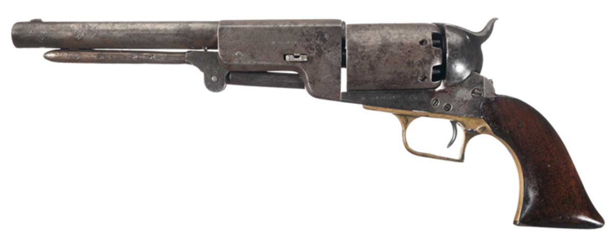 Colt B Company U.S. Walker Model 1847 Revolver Authenticated in the Parade of Walkers ($126,500)
