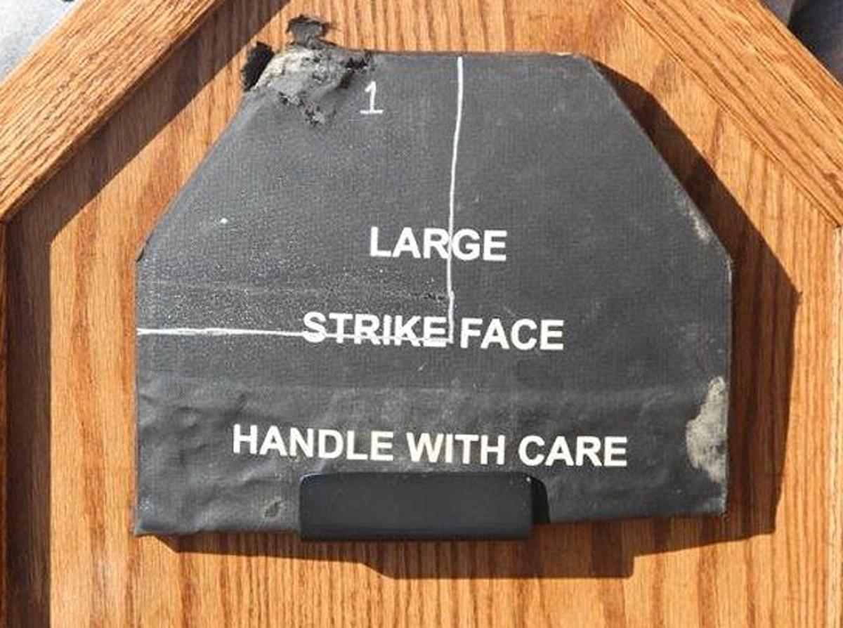 Strikeface armor