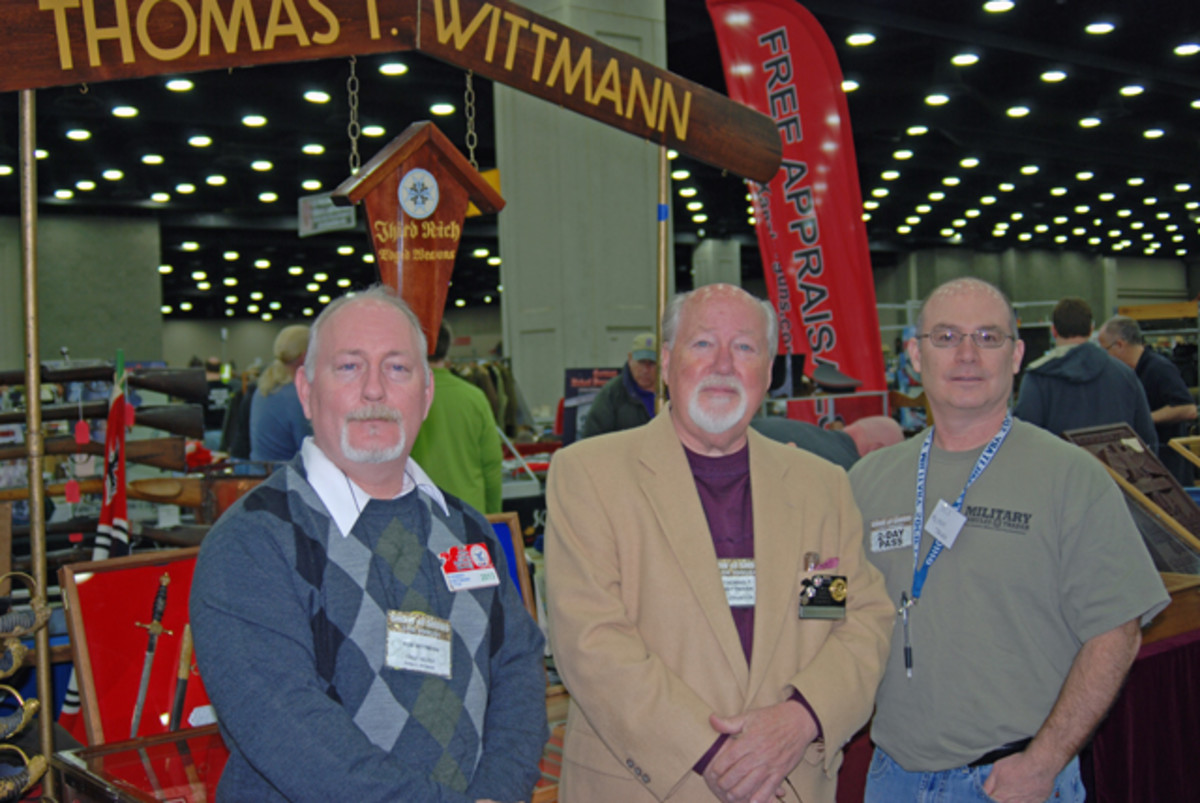 Tom and Dan Wittman of Wittmann Antique Militaria. Check out the daggers and other fine Third Reich militaria at www.wwiidaggers.com