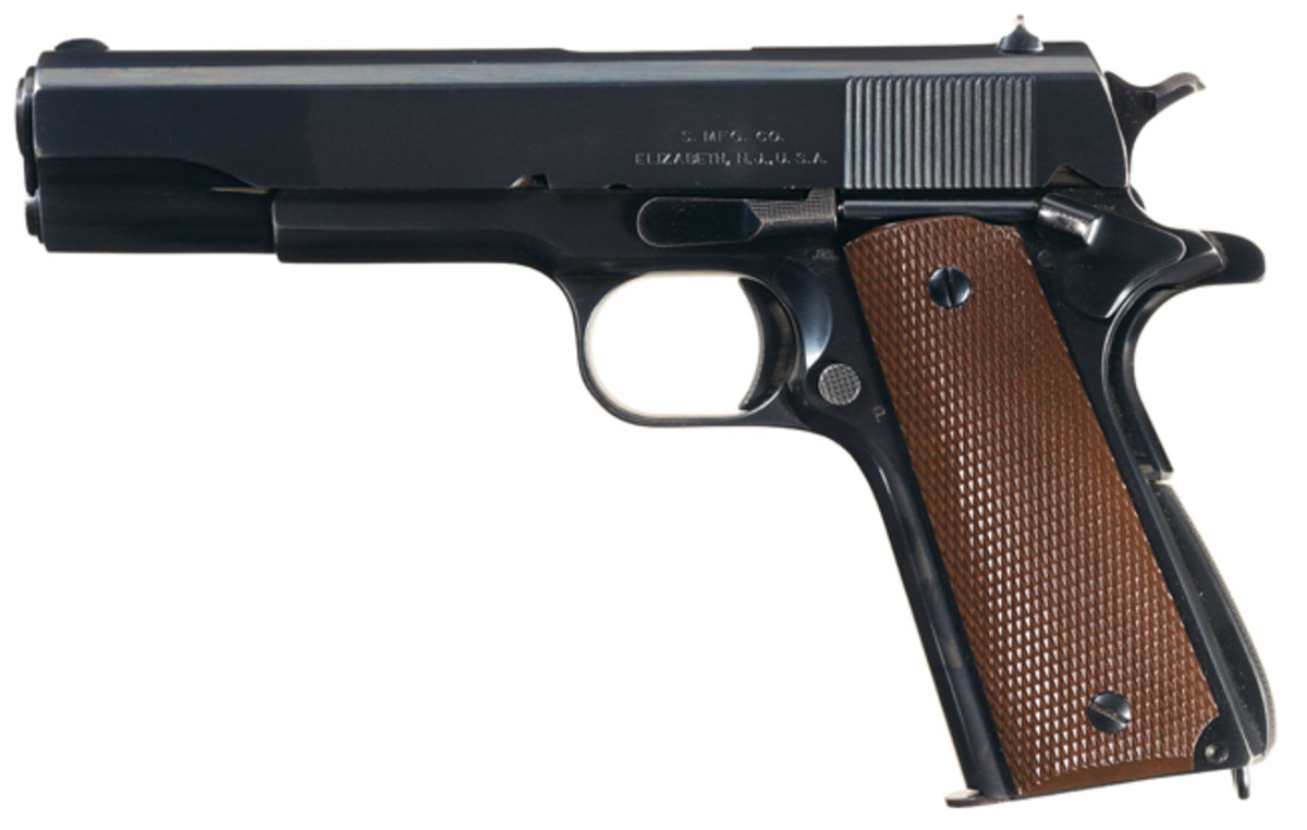 Very Rare U.S. Singer Model 1911A1 Semi-Automatic Pistol