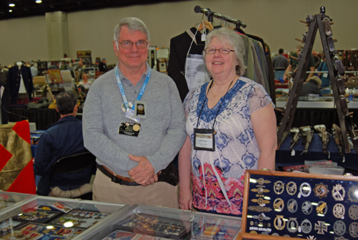 Hugh and Mary Brock of Brocks 20th Century Military Relics....they have been active in the hobby as dealers since 1977. Check out their stuff at www.brocksguns.com