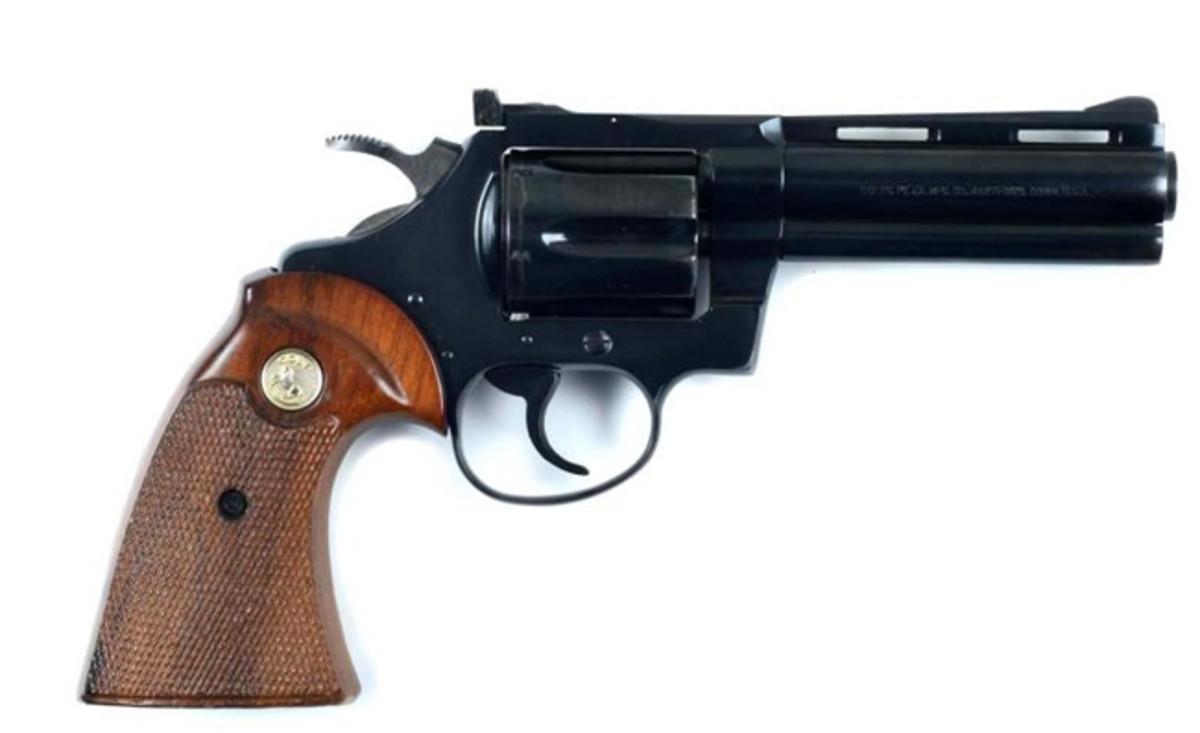 Colt Diamondback .22 D.A. Revolver