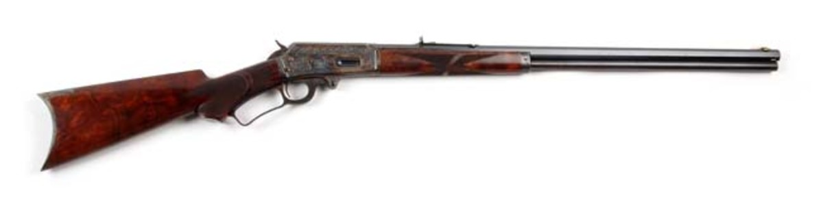 Deluxe Engraved Marlin Model 1893 Rifle