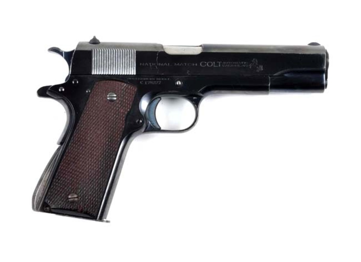 Pre-War Colt 1911-A1 N.M. Semi-Auto Pistol