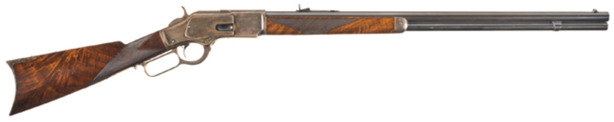 Special Order Winchester Deluxe Model 1873 Lever Action Rifle with Factory Letter