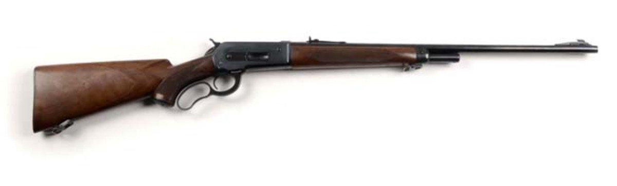 Deluxe Winchester Model 71 Rifle