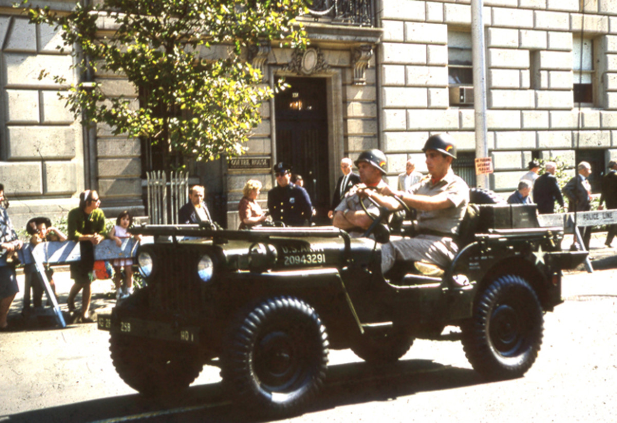 The M38 was a Korean War-era Jeep built from 1950 -1953. Approximately 60,000 were built, many of which continued into service well into the early 1970s.
