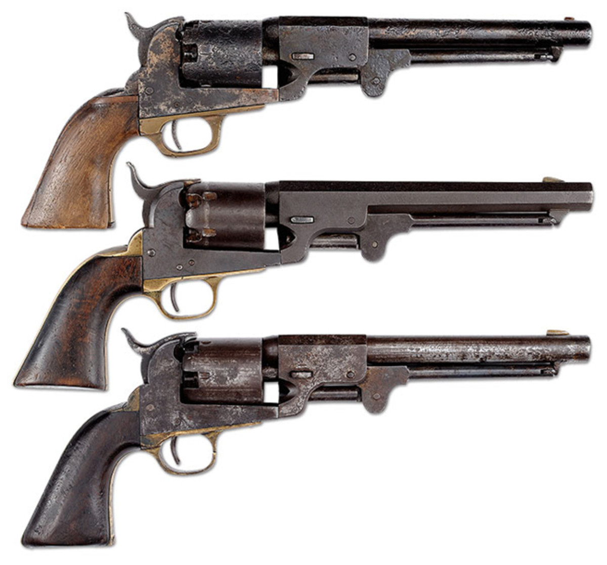- Confederate Octagon Barrel Dance Dragoon Revolver Carried by Corp. John Hargrave, Whitfield's Texas Legion, from Direct Family Descent - Confederate Dance Revolver, SN 243 - Confederate Dance Dragoon Revolver Highest Serial Number Known, Found In Columbia, TX at the Dance Factory Location