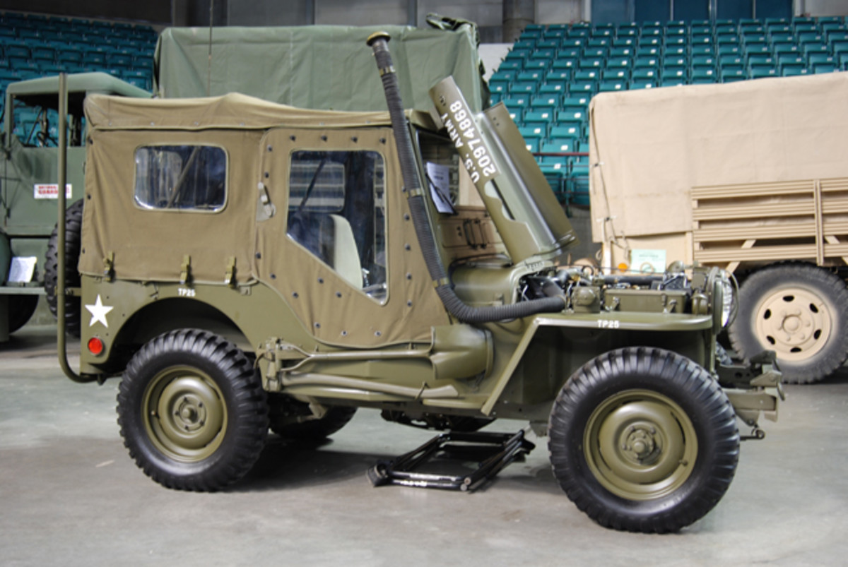 Most parts and accessories for the M38 are readily available in the historic military vehicle world, including canvas and hard cabs, deep-water fording, and arctic heater kits.