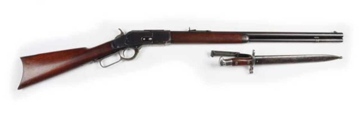 Winchester .44 caliber Model 1873 manufactured in 1892, $8,400. Morphy Auctions image