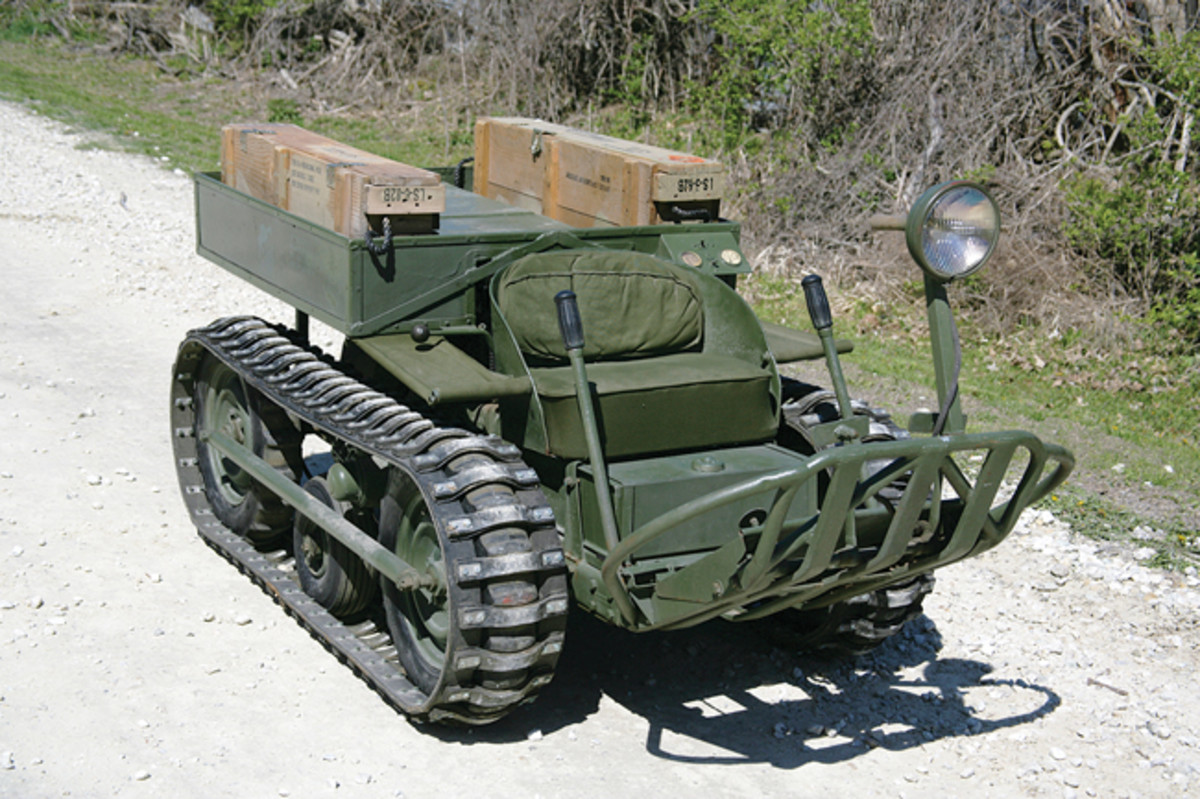 The open design of the cockpit and a pair of heavy ammo crates positioned on both sides of the rear storage deck added up to a formidable vehicle – but it didn't pass the military's muster.