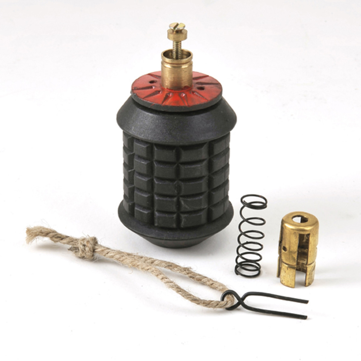 World War Supply's reproduction Type 97 Japanese grenade consists of several pieces, making it the most accurate reproduction available.