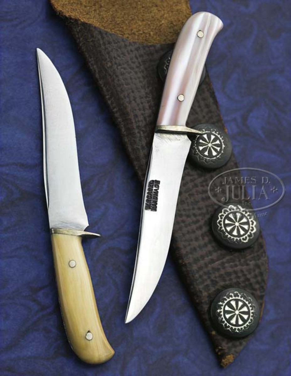 """The """"Damn Democrat"""" Knife (Dr. Jim Lucie Collection). Sold for $11,500."""