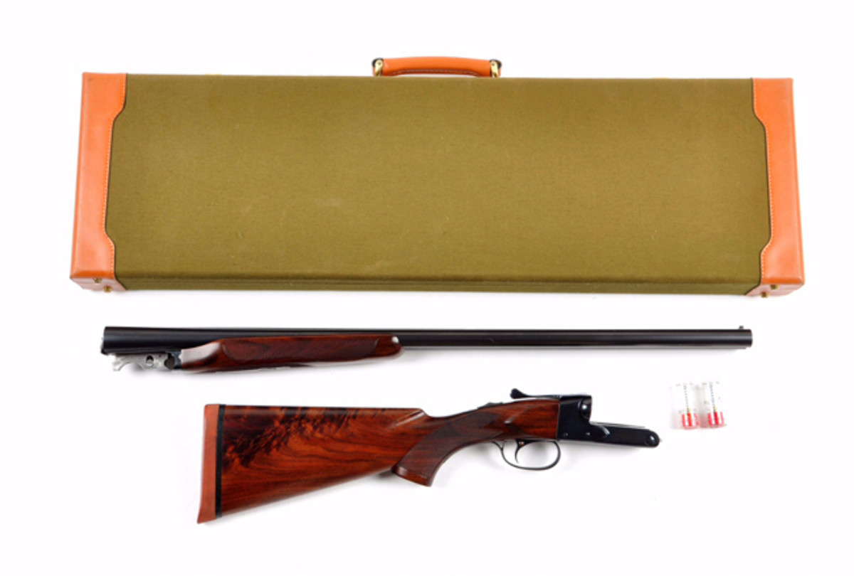 Cased Winchester Model 21 SxS Shotgun
