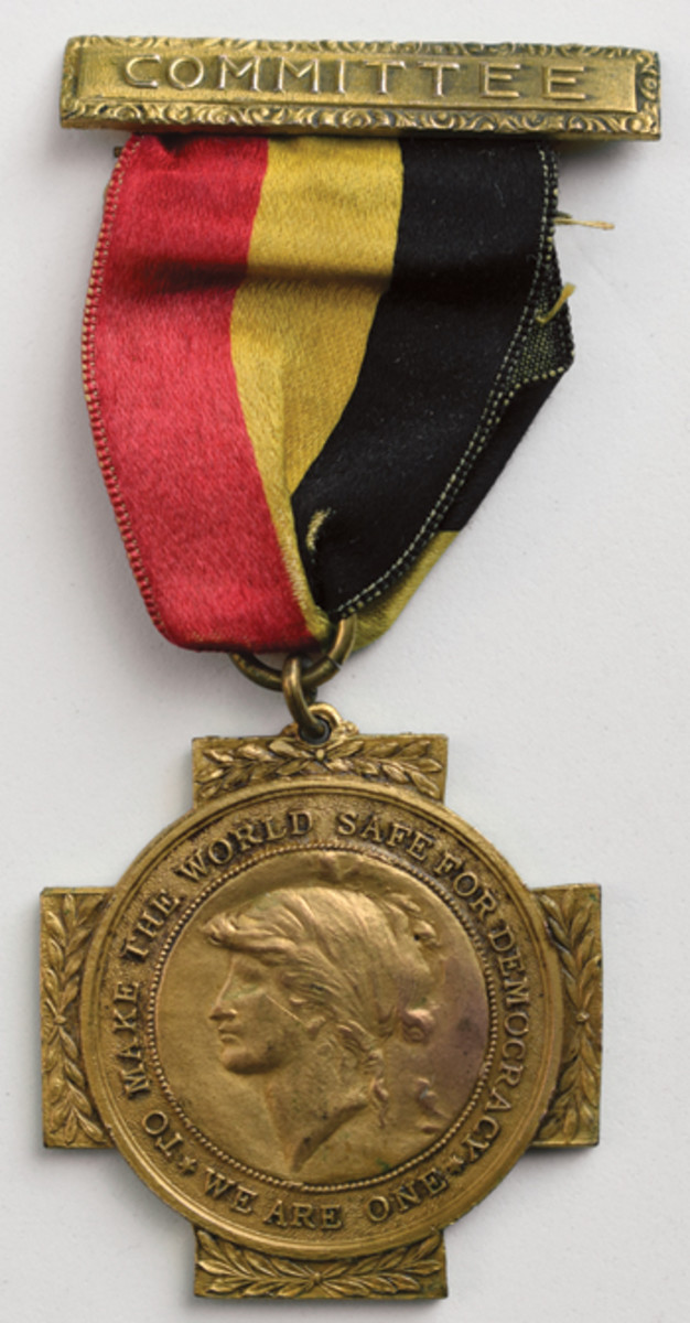 The Belgium War Commission Medal is the most distinct and easily identified of all the Allied Commission medals.