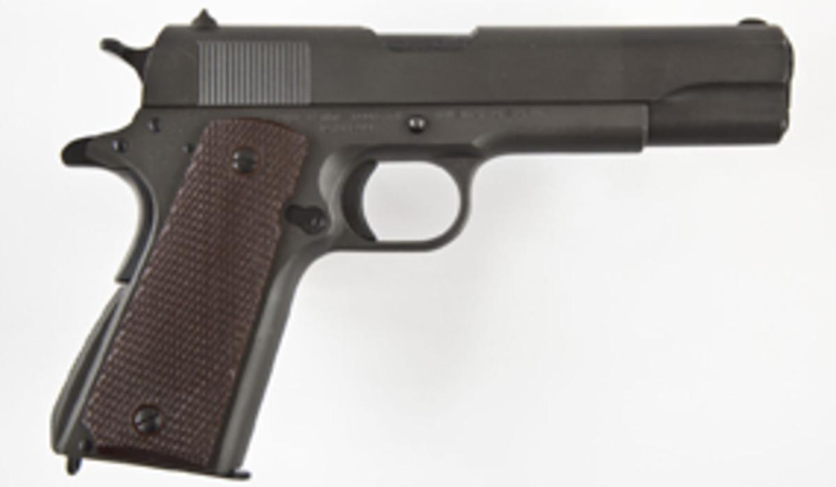 Colt 1911A1 Pistol (estimate $2,000-$2,500)