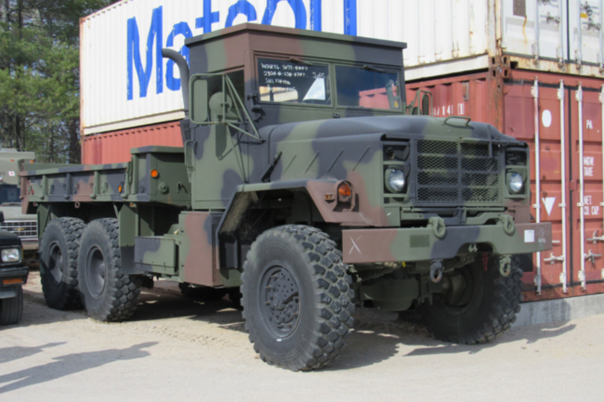 "During 2014, several M939A2s were sold by Government Liquidation that were not like a normal truck. From the exterior, the main difference appears to only be the cab. The differences on the inside, however, have caused many to refer to these trucks as ""Frankensteins."""