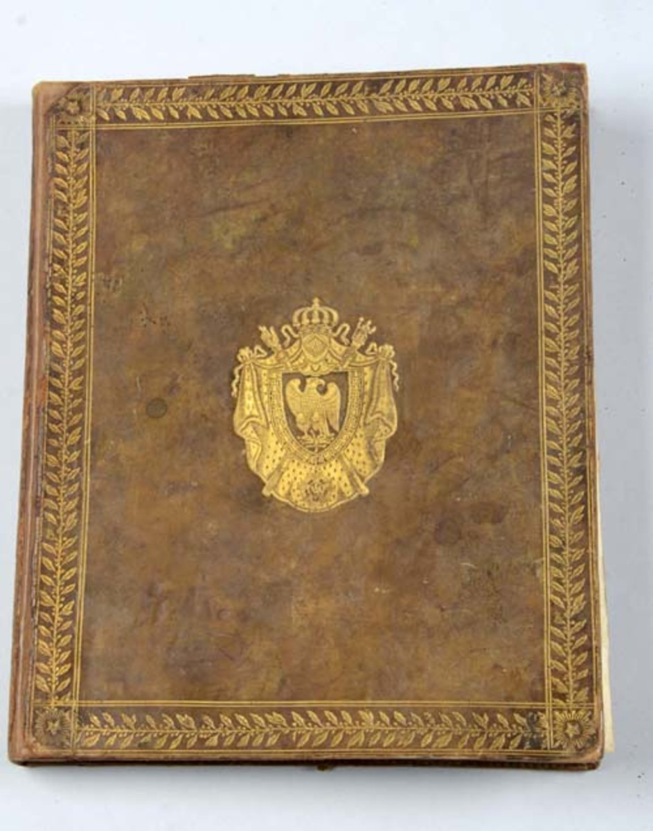 Book Presented by Napoleon to Marshal Nay
