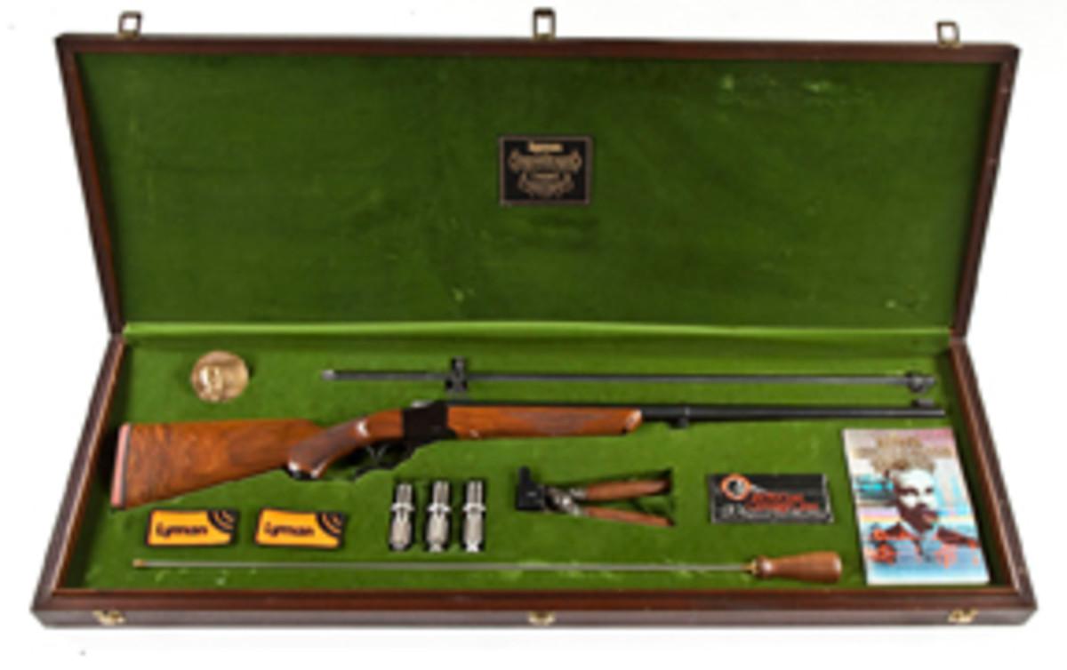 Ruger/Lyman 1878 Centennial Rifle (estimate $2,500-$3,000)